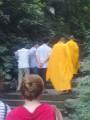 Вон они - монахи шаолинь! :) и точечки у них на лысой голове даже были