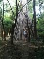 пионерский костёрчик что-ли готовят из бамбука?