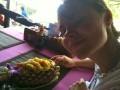 Тайский плов с кешью в ананасе - хотите?