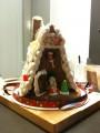 Имбирный рождественский домик