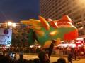 вечером на новогоднем параде