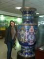 Вот это вазочка - китайский фарфор